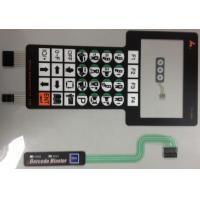 Silver Paste Waterproof Membrane Switch PCB , Membrane Keyboard Switches Manufactures