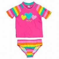 2-piece Rash Guard Swim Set, Available in Various Sizes Manufactures