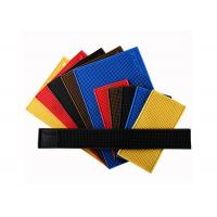 Quality Colorful PVC Square Bar Mat , Durable Anti Slip Personalised Rubber Bar Mats for sale