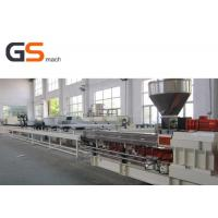Twin Screw Extruder Compound Pelletizing Line PP PE Filler Conveyor Belt Manufactures