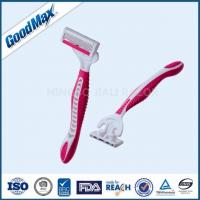 ISO Approved 4 Blade Disposable Razors , Comfortable Shave Men'S 4 Blade Razor Manufactures