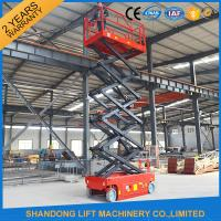 China Self Moving Light Duty Scissor Lifting Platform with Fault Diagnostic System on sale