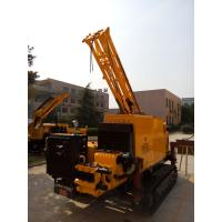 China Multi-Function Hydraulic Core Drilling Rig / 300m Crawler Rock Drill on sale