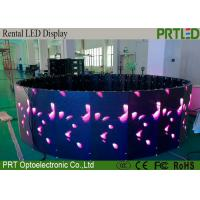 HD Outdoor Rental LED Display P3.91 Outdoor Curved LED Video Screen Rental Manufactures
