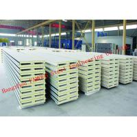 970mm Water Resistant Insulated PU Sandwich Panels for Prefab House Roof Panel Manufactures