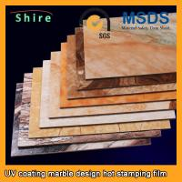 China PET Heat Transfer Film Hot Stamping Foil Roll With Strong Covering Power on sale