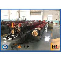 Full Automatic Steel Door Frame Roll Forming Machine With Hydraulic Cutting Manufactures