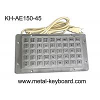 China Anti - vanda Keyboard with 45 Keys , Industrial Metal Keyboard on sale