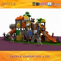 Quality 3D design LLDPE galvanized metal outdoor commercial play system playset for kids for sale