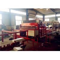 China High Speed Steel Rebar Welding Machine , Wire Mesh Welding Line Anticorrosive on sale