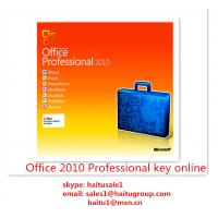 Office 2010 Professional Microsoft Office Product Key Codes Permanent , Activation Online Manufactures