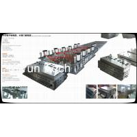 WPC Profile Extruder Production Line / Wood Plastic Double Screw Extruder Manufactures