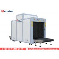 Multi Energy Color Scanning X Ray Security Baggage Scanner With Penetration 32mm Steel Manufactures