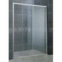 Buy cheap Without Wall Profiles Aluminum Shower Doors 2 CM Adujustment Width One side 6 MM from wholesalers