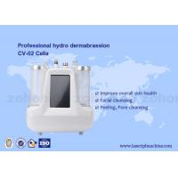 Korea Style Hydro Water Dermabrasion Peeling Machine For Facial SKin Cleaning Manufactures