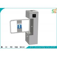 China Out Door Heavy Duty Automatic Turnstiles , Stainless Steel ID Card Swing Barriers on sale