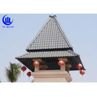 Prefabricated Houses Roof Building Material Plastic Roof Cover Synthetic Resin Roof tile Manufactures