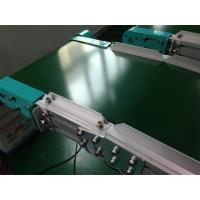 China Cleated Belt Conveyor Rubber Belt Conveyor Linkage To Robotic Machine on sale