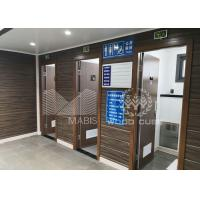 Convenient Prefabricated Modular Toilets , Q550 Standard Steel Luxury Mobile Toilets for sale