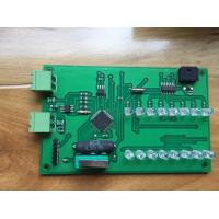2 Layers FR4 1OZ LED PCB Assembly HASL Surface Finish ROHS Certification Manufactures