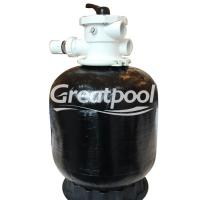 Buy cheap UV Resistant Swimming Pool Sand Filter Fiberglass Pool Filter Tank Cleaning from wholesalers