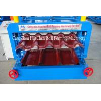 China Color Steel Galvanized Double Layer Roll Forming Machine , Roof Panel Roll Form Equipment on sale