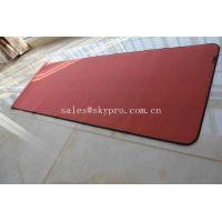 China Eco - Friendly Yoga Mat Neoprene Rubber Sheet / Fancy Non Slip Yoga Mat on sale