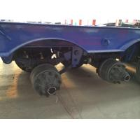Low-bed Semi Trailer Truck 3 Axles 70Tons 15m for carrying construction machine Manufactures