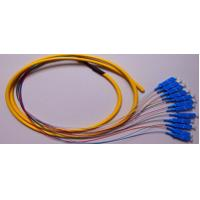 UPC SC Fiber Optic Cable Multimode , 12 Core Pigtail Cable High Credibility