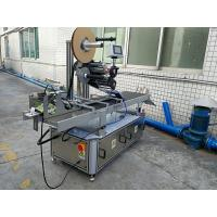 Buy cheap Pressure Sensitive Top Labeling machine / Automatic Self Adhesive Labeler from wholesalers