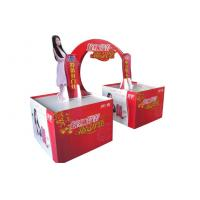 China Shampoo Cardboard Display Stand Stamping / Counter Paper Display Stands on sale
