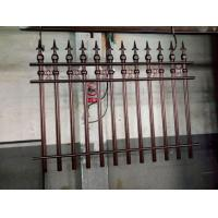 Wrought Iron Cast Iron Fence Rosettes For Home Decoration Iron Bar Fence Manufactures