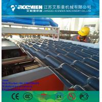 PVC Plastic Glazed Tile Machinery Production Line/pvcPVC Corrugated Roofing Sheet Production Line Manufactures