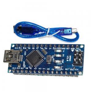 China Micro Arduino Controller Board Mini USB Nano V3.0 ATMEGA328P-AU 16M 5V on sale
