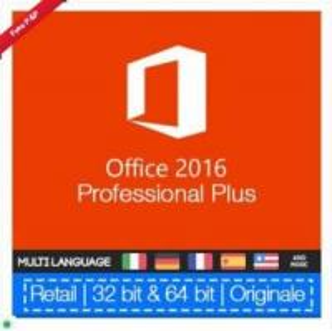 China 100% Genuine Microsoft Ms Office 2016 Pro Plus Retail Key No Language Limitation on sale