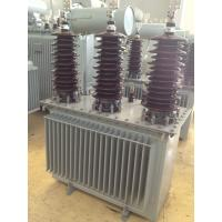 Low Loss Oil-immersed Power Transformers 3150KVA For Factory , Energy-Saving Manufactures