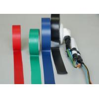 Black Shiny PVC Heat Resistant Electrical Tape For Cables And Wires Manufactures