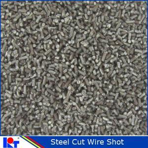 China Sandblasting Steel Cut Wire Shot on sale