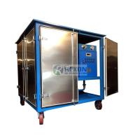 6000 Liters / Hour Vacuum Transformer Oil Purifier System Weather Proof Housing Manufactures