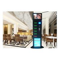 China Remote Advertising Handphone Charging Station , Wireless Phone Charging Station Touch Screen on sale