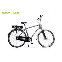 China Aluminum Alloy 6061 Frame Electric Mountain Bikes Cruiser Bicycle 3 Speed Gears on sale