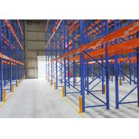 China Optional Size Heavy Duty Pallet Racking System , Heavy Duty Industrial Racking on sale