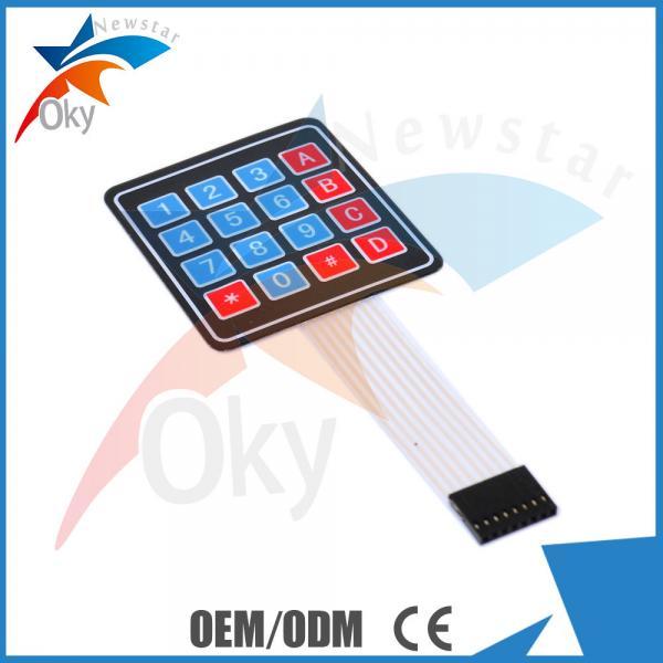 Quality 4 x 4 Matrix Array Breadboard For Arduino 16 Key Membrane Switch Keypad for sale