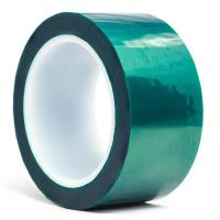 3M 8992 Green Polyester High Temperature Tape with Silicone Adhesive , Masking Tape , Dark Green Color Manufactures