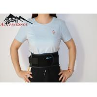 Mesh Cloth Abdomen Waist Support Belt With Net Pocket Black Color Manufactures