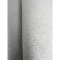 Shoes Black Eco Friendly Leather , Bonded Leather Upholstery Fabric