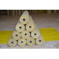 Buy cheap Low Dust Rockwool Pipe Insulation , Mineral Wool Thermal Insulation Pipe from wholesalers