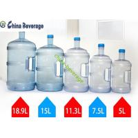 5 Gallon Water Bottle Filling Machine For Barrel Water 304 Stainless Steel Pump Manufactures