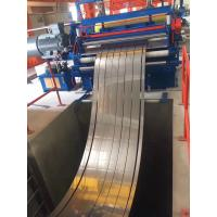 Quality Cold Rolled Thick Plate Steel Coil Cut To Length Line 63m * 12m Size 20T Weight for sale