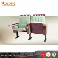 China New Design Two Set Durable Comfortable Fabric Folding Auditorium Chair/ Theater Chair on sale